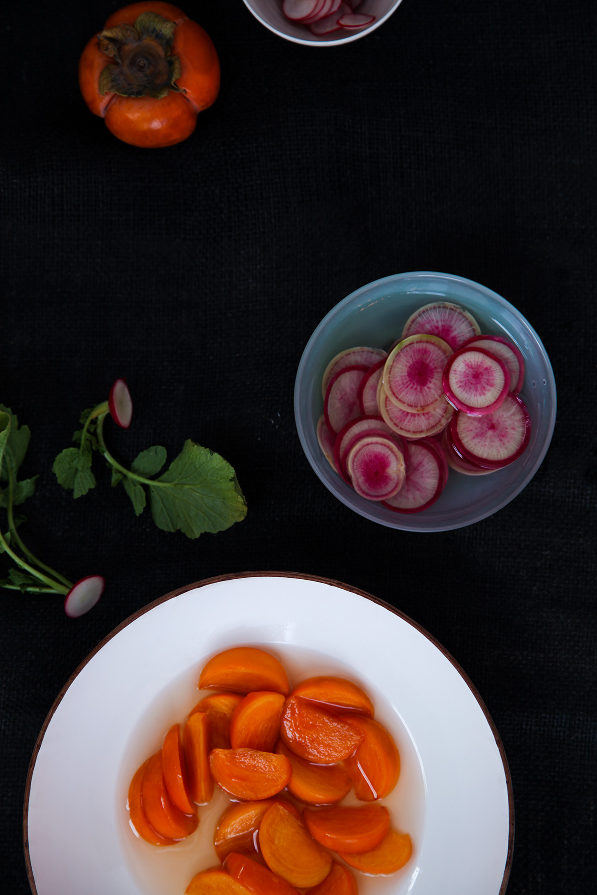 Pickled-Persimmons-and-Radishes