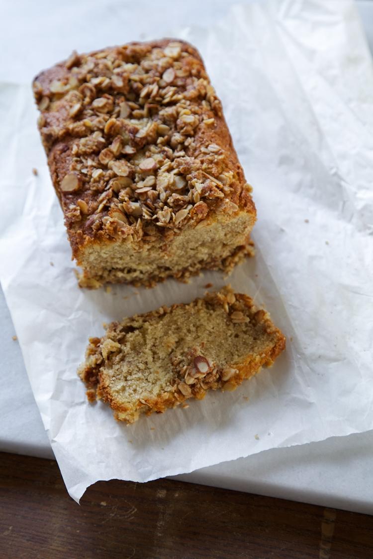 Silvana Nardone's Gluten-Free Almond-Streusel Tea Cake