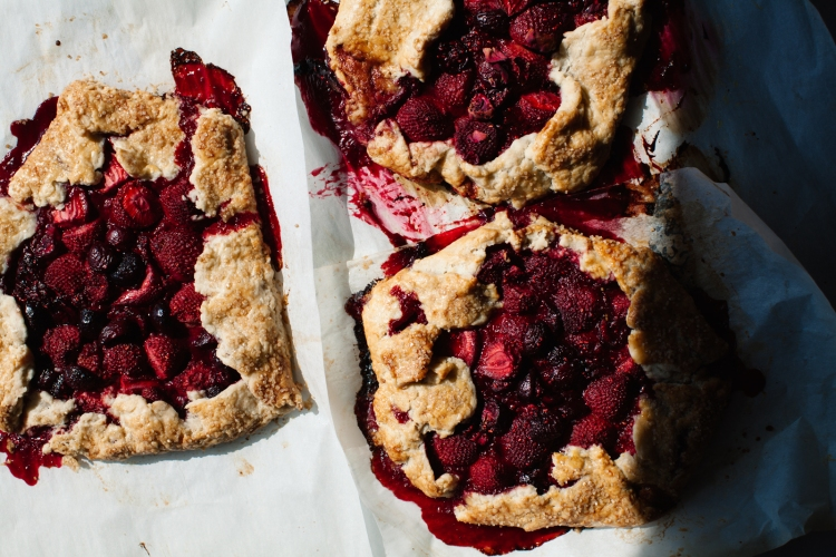 Red Fruit Galettes  -  Lemon Fire Brigade