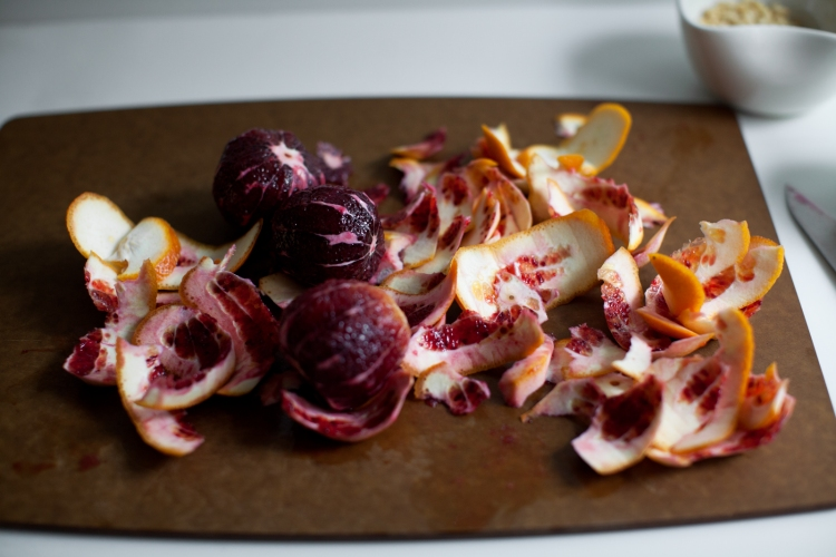 Bitter-Sweet Radicchio Salad Toasts with Cinnamon Dressing | Lemon Fire Brigade