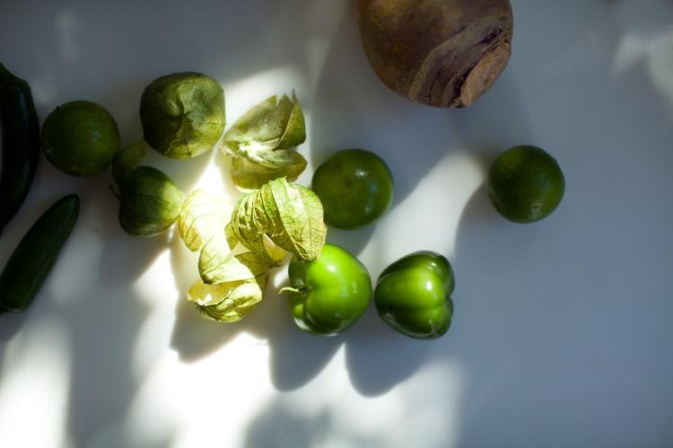 Rutabaga with Spiced Yogurt and Green Harissa | Lemon Fire Brigade